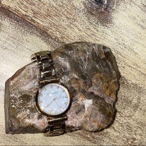 👑 Anne Klein Gold Watch